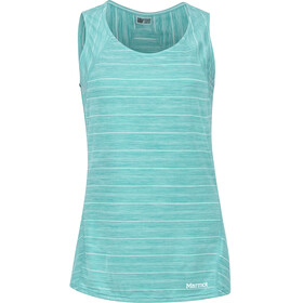 Marmot Ellie Mouwloos Shirt Dames turquoise